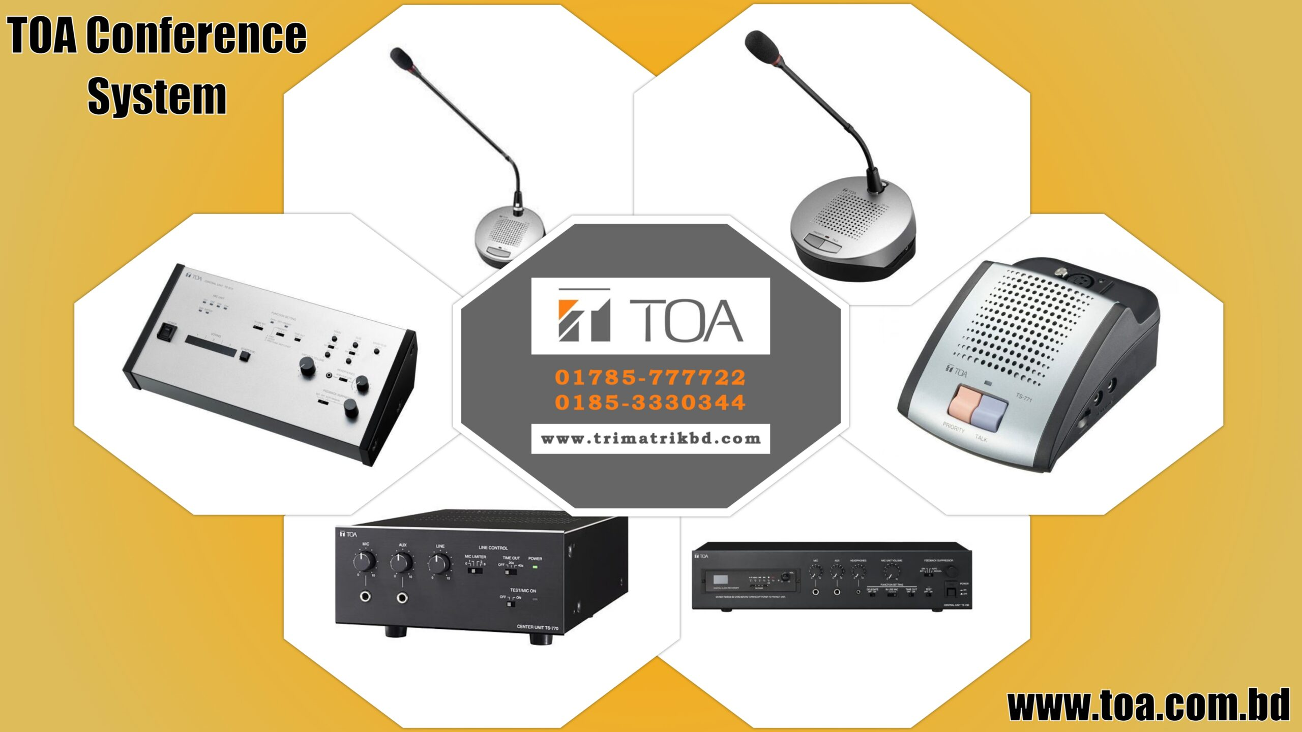Toa Conference System in Bangladesh