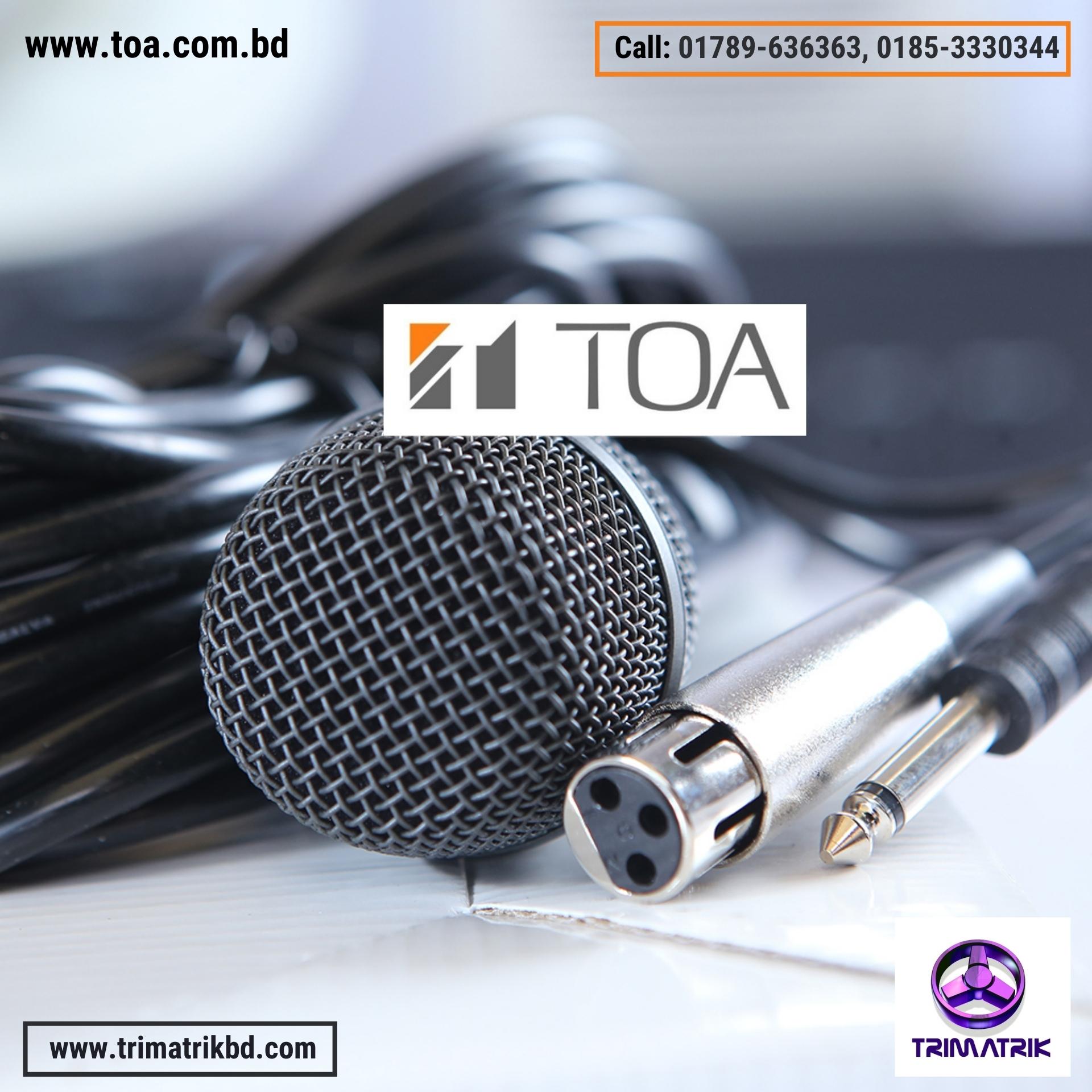 TOA DM-520 Dynamic Microphone