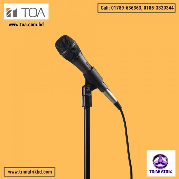 TOA DM-520 Bangladesh, Trimatrik, toa price in bangladesh, toa catalogue, toa microphone price in bangladesh, toa wired microphone price, toa pa system in bangladesh, toa bangladesh