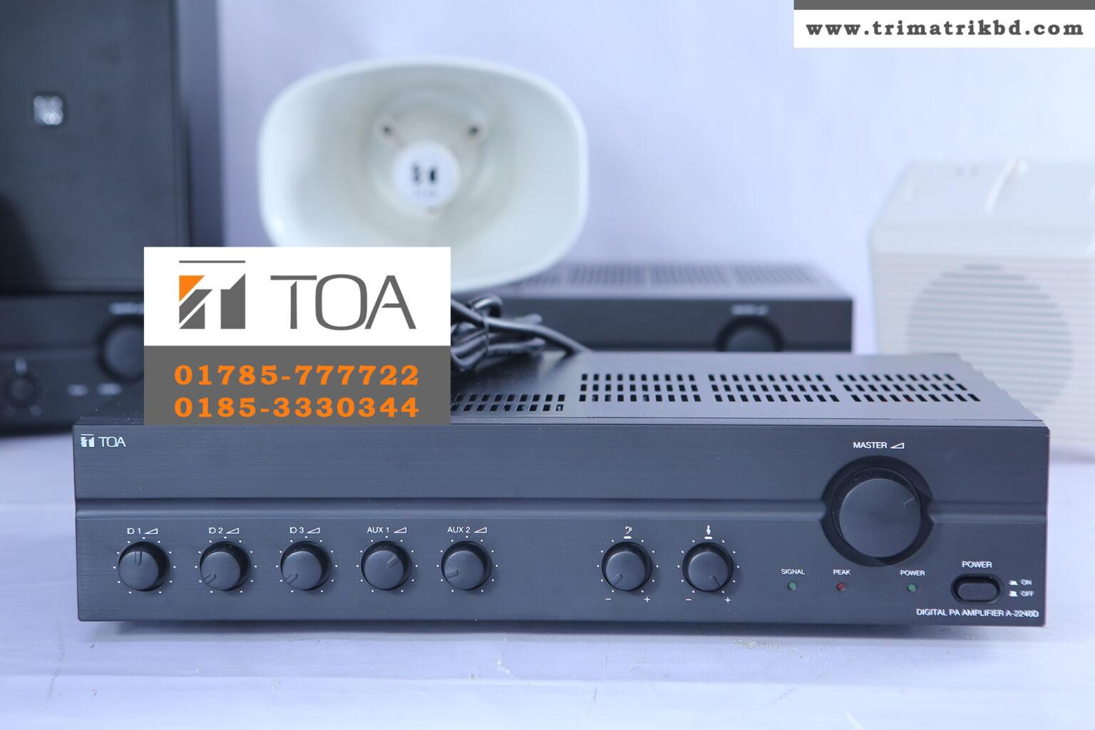 TOA A-2240 Price in Bangladesh