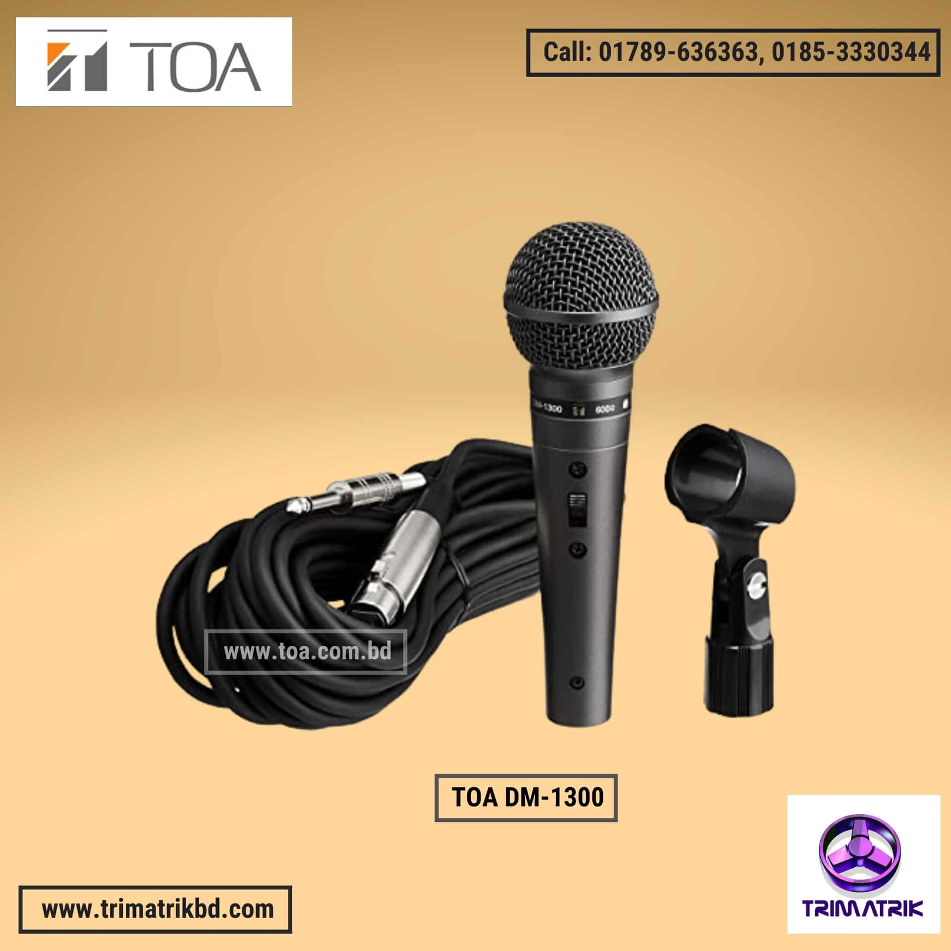 TOA DM-1300 Bangladesh | TOA DM-1300 Price in BD