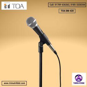 TOA DM-420 Dynamic Microphone