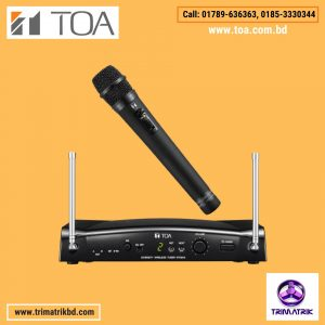 TOA WM-5225 With WT-5810 UHF Wireless Microphone