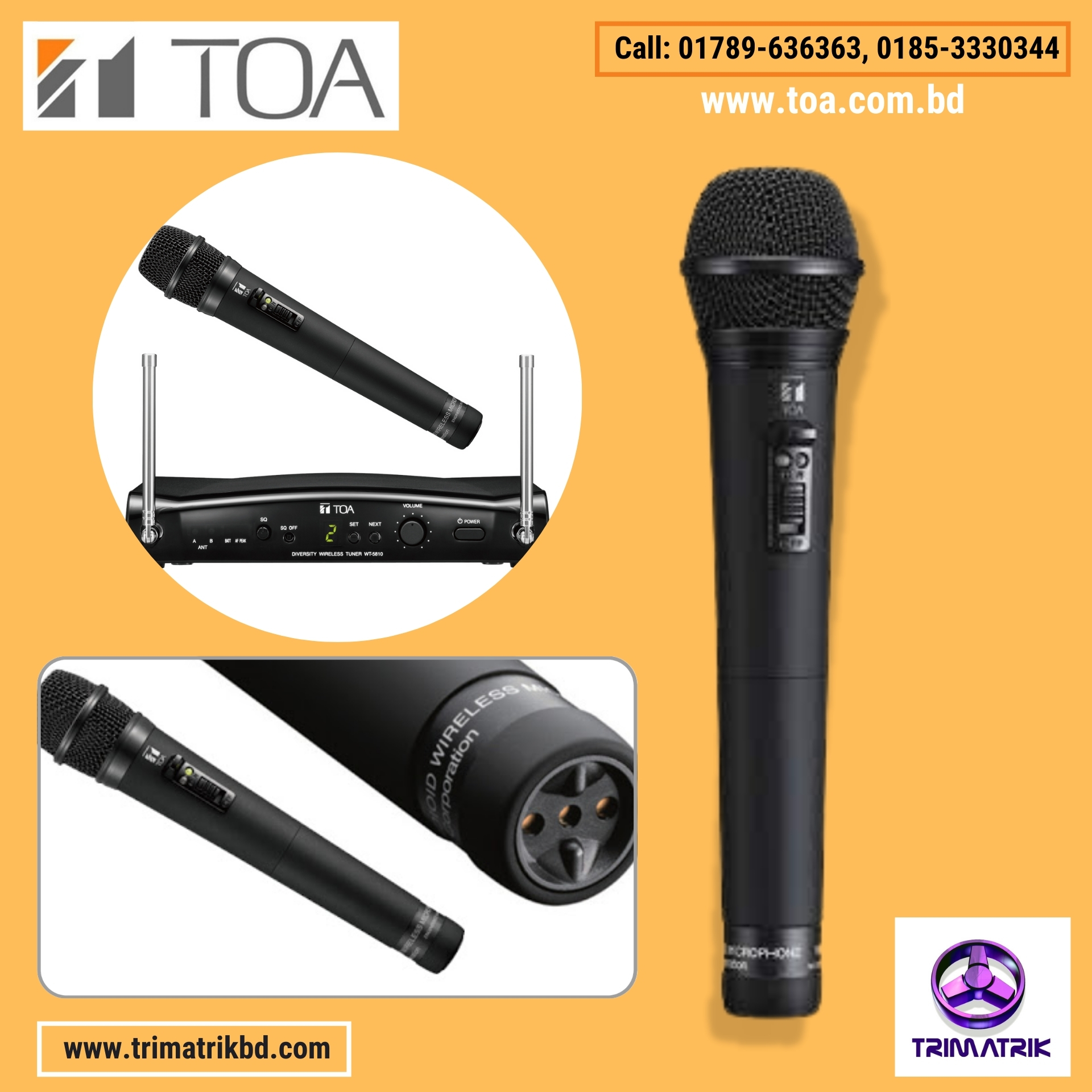 TOA WT-5810 Bangladesh