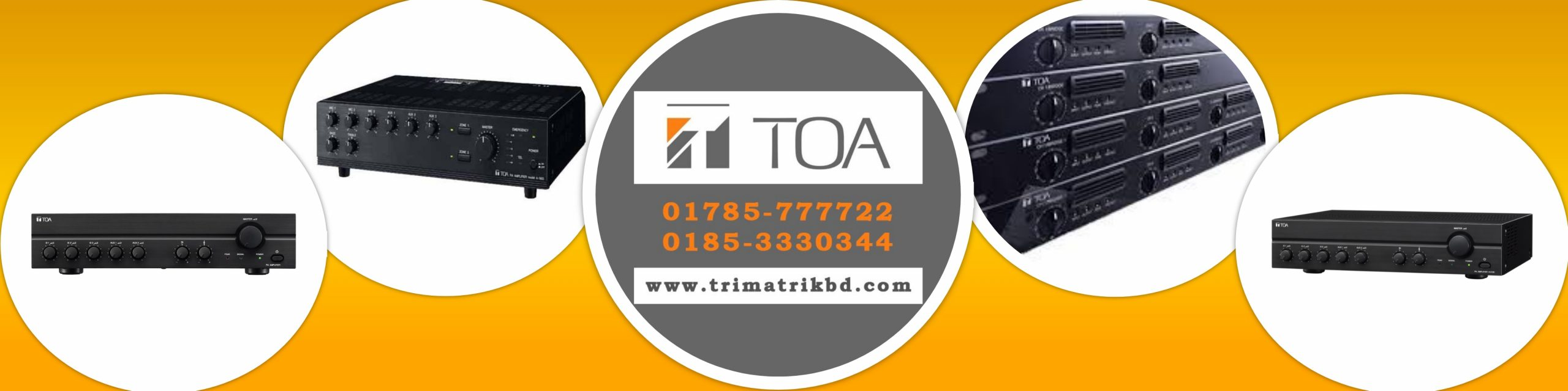 TOA Amplifier Price in Bangladesh